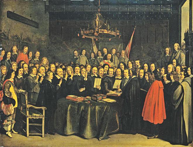 credit: Gerard ter Borch, 1648