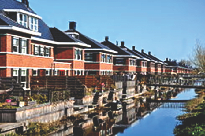 In the Netherlands virtually all housing is developed and built through property developers